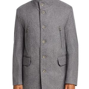 Cole Haan wool coat in grey